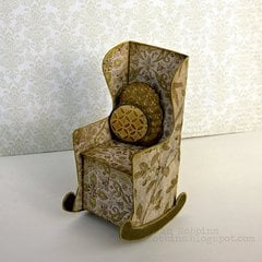 3-D Sizzix Chair