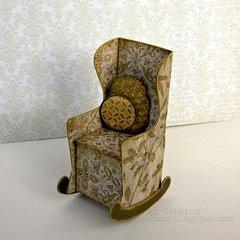 3-D Sizzix Chair