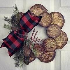 Festive Tree Ring Wreath