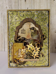 adorned Card-Sizzix Chapter 2