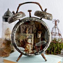 Assemblage Clock