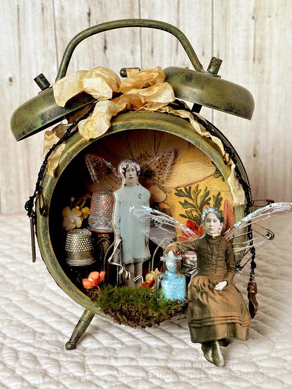 Fairy Garden Clock