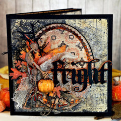 Ghoulish Tunnel Card
