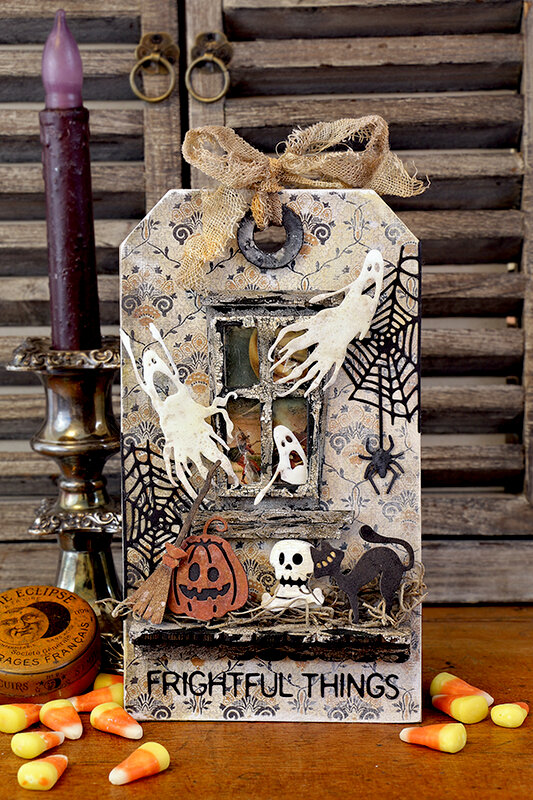 Frightful Things - Tim Holtz Sizzix 3 Release