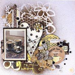 Love Coffee Layout