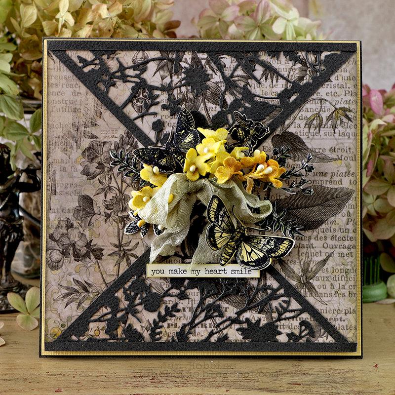 Organic Floral Card
