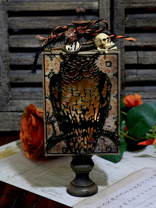 Owl Light Box