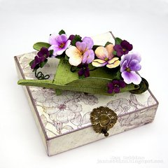 Sizzix Pansies & Wheelbarrow
