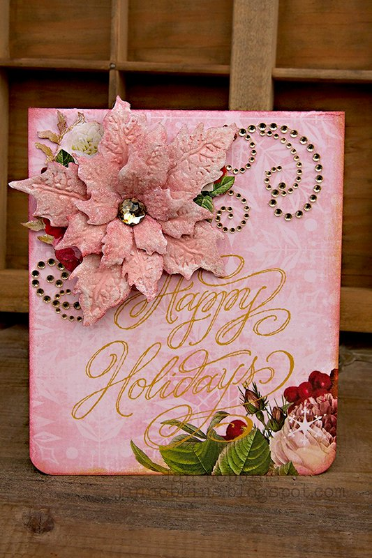 Pop 'N Cuts Christmas Card