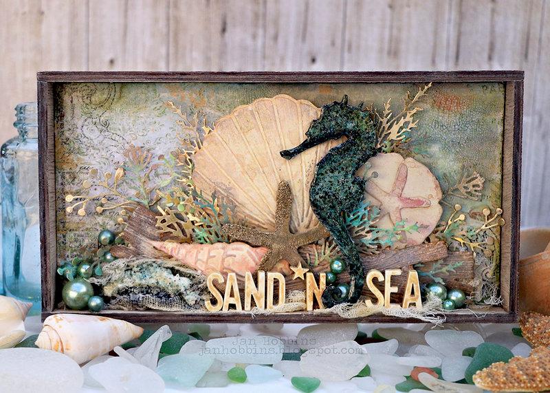 Sand 'n Sea Shadow Box