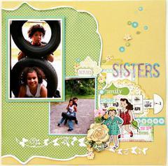 Carta Bella Paper - Sisters