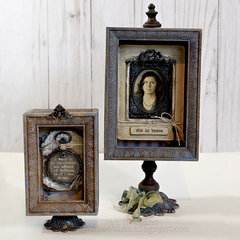 Tim Holtz Shadow Boxes