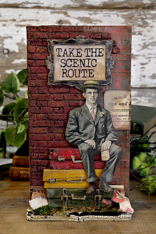 Take The Scenic Route - Sizzix Chapter 2 Release