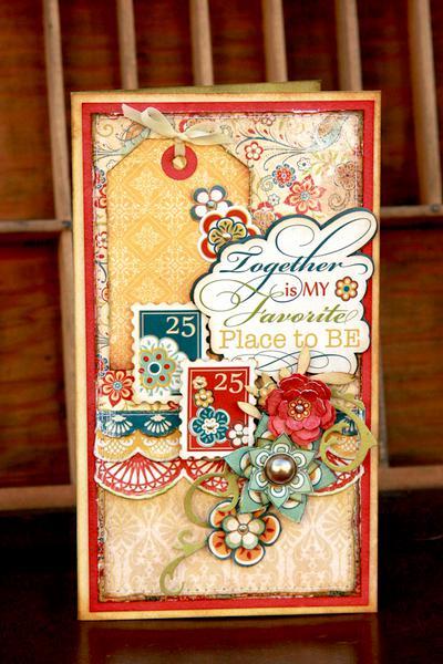 Carta Bella Traditions Card