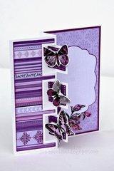 Triple Square Framelit Card