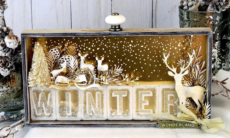 Winter Wonderland Vignette Tray