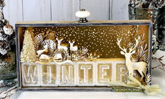 Winter Wonderland Vignette Tray