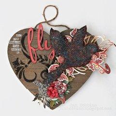 Home Decor Wooden Heart