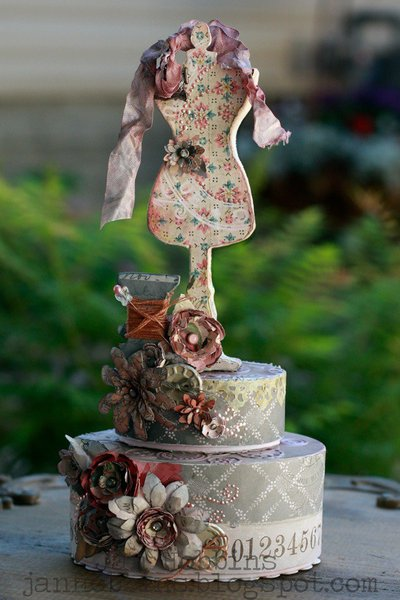 Dress Form Gift Box