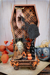 Coffin Vignette Tray