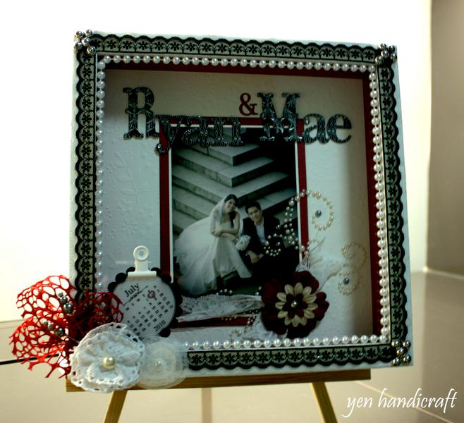 Monochrome Wedding Frame
