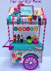 Summer Dreams Ice Cream Cart