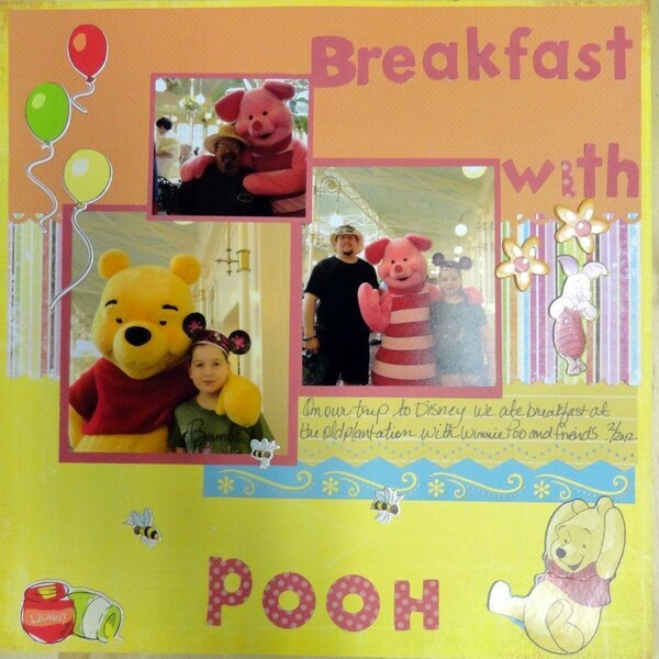 breakfast with pooh