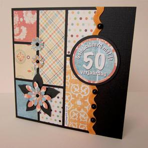 Gefeliciteerd met je 50ste verjaardag