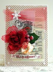Christmas card (Manor House)