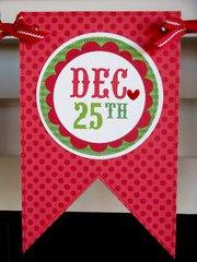 Doodlebug Sugarplums Christmas Banner by Mendi Yoshikawa