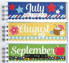 Doodlebug Monthly To Do List Planner Calendar by Mendi Yoshikawa