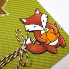 Lawn Fawn Thankful For You card by Mendi Yoshikawa