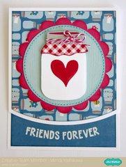 An Echo Park Fine & Dandy Card Set by Mendi Yoshikawa