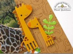 Doodlebug Day At The Zoo Layout by Mendi Yoshikawa