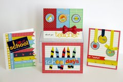 Pebbles Inc. Back To School Cards by Mendi Yoshikawa