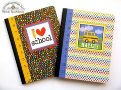 Doodlebug Back To School Notebooks, Pens & Bookmarks
