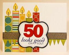 Bella Blvd. Midterm Over The Hill Birthday Card by Mendi Yoshikawa