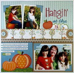 Bella Blvd.Thankful Pumpkin Patch Layout by Mendi Yoshikawa