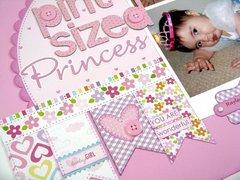 A Bella Blvd. Baby Girl Pint-Sized Princess Layout