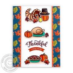 Sunny Studio Bountiful Autumn Card by Mendi Yoshikawa