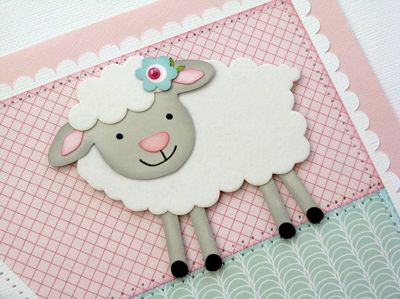 An Echo Park Bundle of Joy Baby Girl Layout