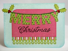 A Carta Bella Merry & Bright card by Mendi Yoshikawa