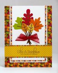 A Doodlebug Happy Harvest Fall Card by Mendi Yoshikawa