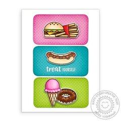 Sunny Studio Cruisin' Cuisine Card by Mendi Yoshikawa