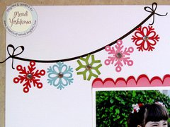 An Echo Park Happy Holidays Layout