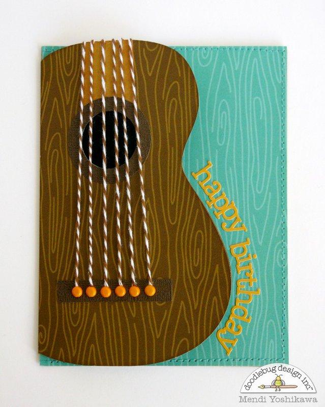 Doodlebug Masculine Cards for Guys by Mendi Yoshikawa