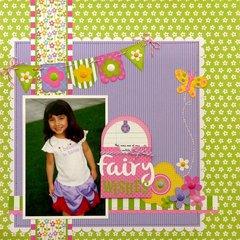 Doodlebug Fruit Stand Fairy Layout by Mendi Yoshikawa