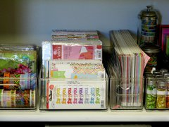 Mendi Yoshikawa's Craft Studio Scrapbook Room