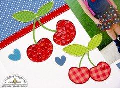 Doodlebug Stitching With Twine Layout by Mendi Yoshikawa