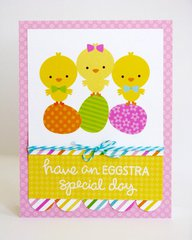 Doodlebug Easter Parade Cards by Mendi Yoshikawa